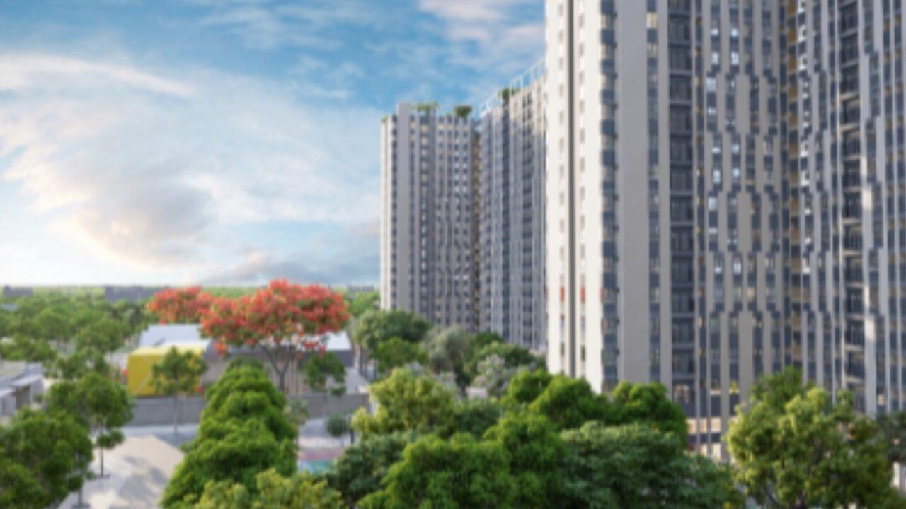 mô hình kiến trúc chung cư - cty nguyên võ