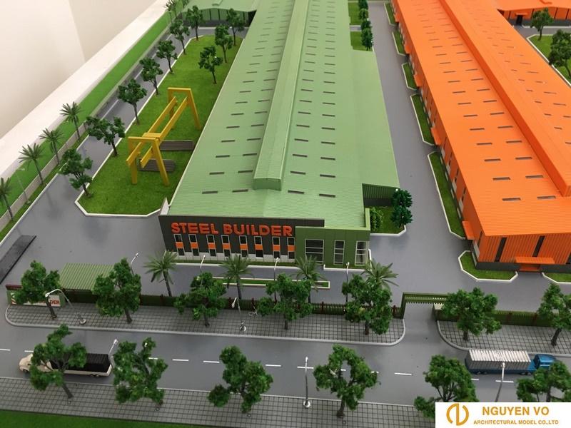 thiết kế mô hình nhà máy Steel Builder - Cty Nguyên Võ