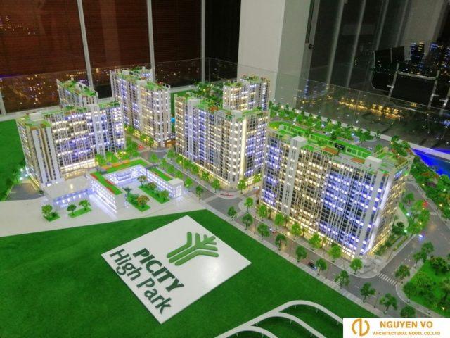 mô hình kiến trúc căn hộ 3 - Cty Nguyên Võ