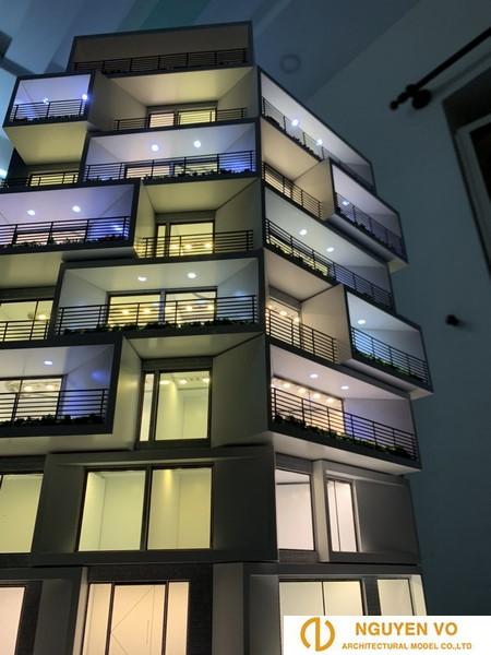 Mô hình chung cư Art Resdences 3 - Thiết kế bởi Cty Nguyên Võ