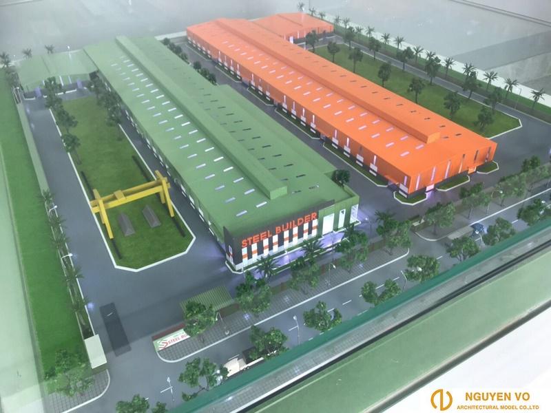 Thiết kế mô hình nhà máy Steel Builder 2 - Cty Nguyên Võ