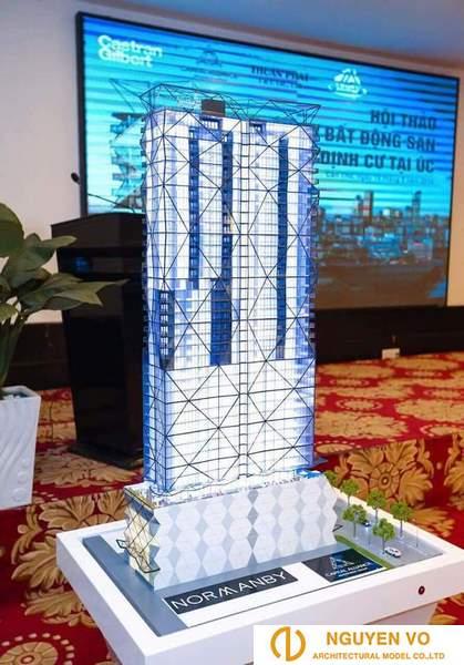 Mô hình kiến trúc chung cư 3 - Cty Nguyên Võ.