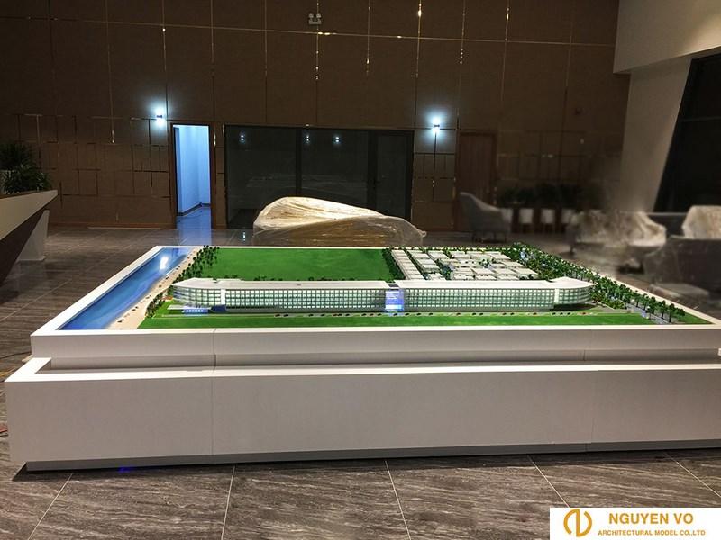 Thiết kế mô hình resort malibu hội an 1