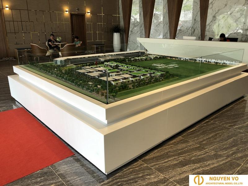 Thiết kế mô hình resort malibu 2 - Cty Nguyên Võ