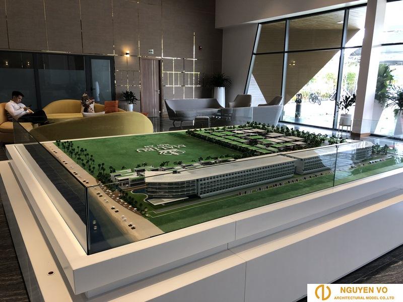 Thiết kế mô hình resort malibu 3 - Cty Nguyên Võ