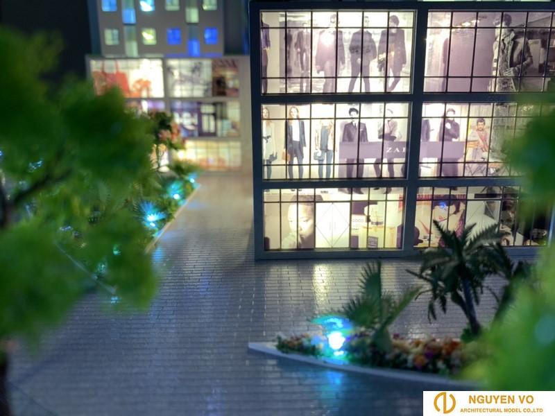 Mô hình nhà phố Song Minh Residence 3 - Thiết kế bởi Cty TNHH Nguyên Võ.