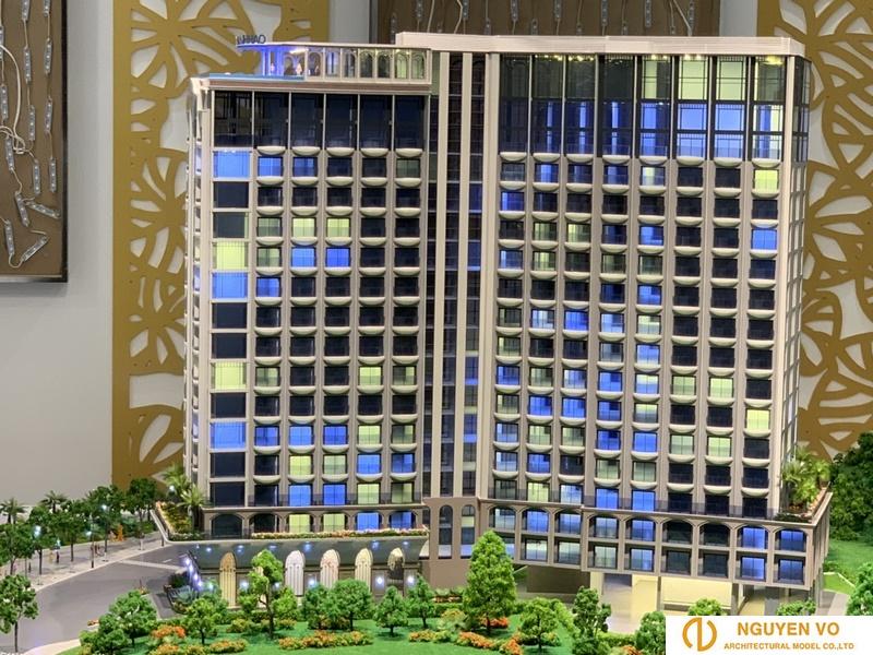 Mô hình kiến trúc cao ốc Oyster Gành Hào 5
