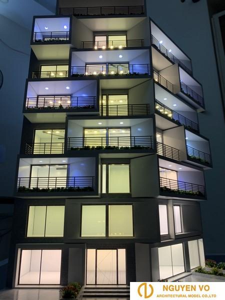 Mô hình chung cư Art Resdences 4 - Thiết kế bởi Cty Nguyên Võ