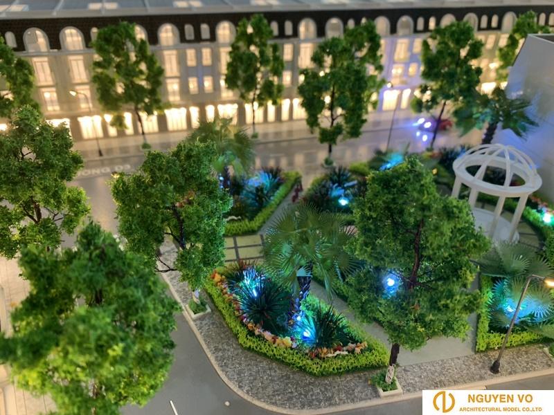Mô hình nhà phố Song Minh Residence - Thiết kế bởi Cty TNHH Nguyên Võ.